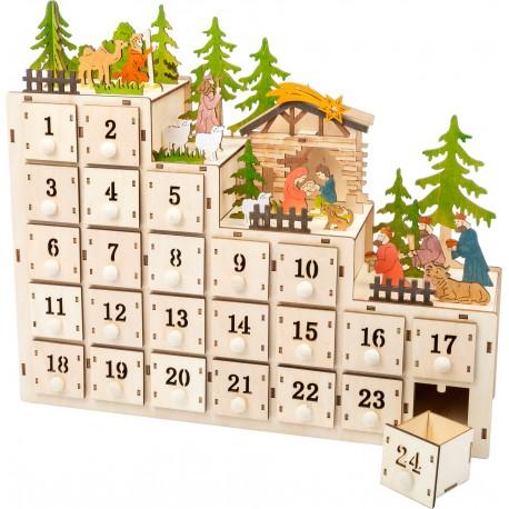 Calendrier Crèche de Noël