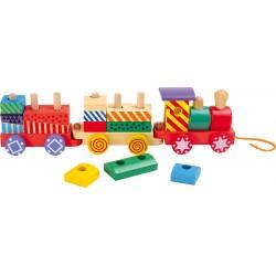 Train multicolore