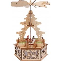 """Lampe """"Pyramide d'hiver"""""""