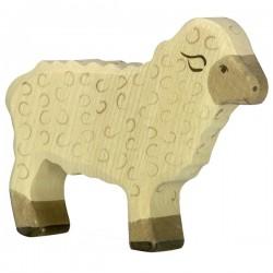 Mouton, debout