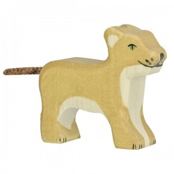Lion, petit, debout