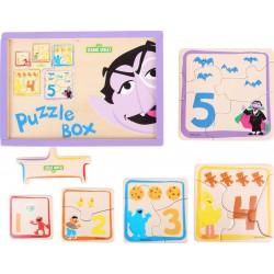 5, RUE SÉSAME Boîte de puzzles