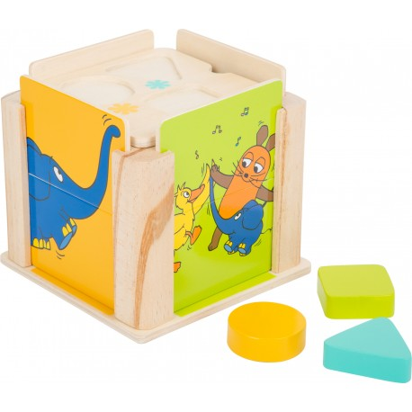 Boîte à formes avec l´éléphant Die Maus