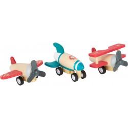 Set d'avions à remonter