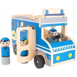 """Voiture de jeu """"Minibus de police XL"""""""