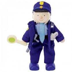 Poupée Policier