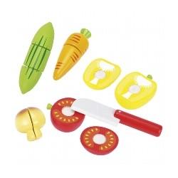 Légumes avec scratch
