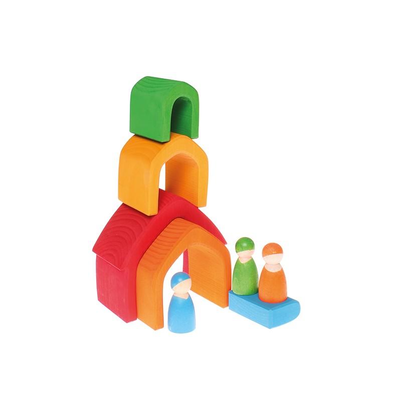 maisons arc en ciel les jouets de noam site officiel. Black Bedroom Furniture Sets. Home Design Ideas